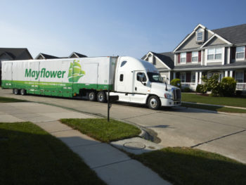 A&A+Movers+Mayflower+Truck